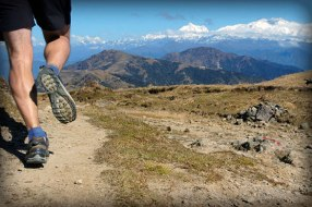 Image result for running up a mountain